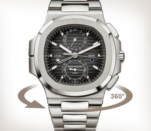79600dcc8d9fc Patek Philippe | Nautilus Travel Time Steel Chronograph 5990/1A-001
