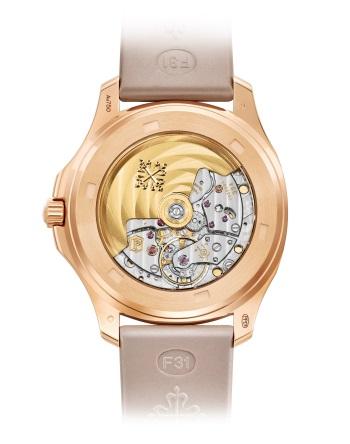 Patek Philippe Aquanaut Мод. 5062/450R-001 Розовое золото - ВИД СЗАДИ