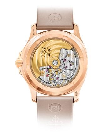 Patek Philippe Aquanaut Ref. 5072R-001 Rose Gold - Back