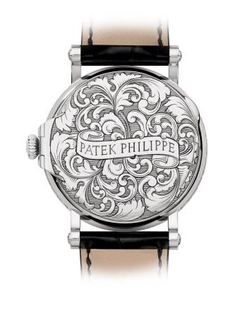 Patek Philippe 超级复杂功能时计 Ref. 5160/500G-001 白金款式 - 背面