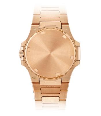 Patek Philippe Nautilus Мод. 7010/1R-011 Розовое золото - ВИД СЗАДИ