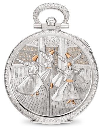 Patek Philippe Oficios artesanales Ref. 995/111G-001 Oro blanco - Reverso