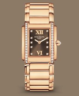 Patek Philippe Twenty~4 كود 4910/11R-010 الذهب الوردي