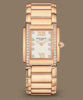 Patek Philippe Twenty~4 كود 4910/11R-011 الذهب الوردي