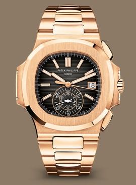 Patek Philippe Nautilus كود 5980/1R-001 الذهب الوردي