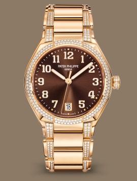 Patek Philippe Twenty~4 كود 7300/1201R-010 الذهب الوردي