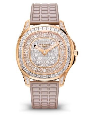 Patek Philippe Aquanaut Мод. 5062/450R-001 Розовое золото - ВИД СПЕРЕДИ