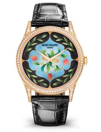 Patek Philippe 珍稀工艺 Ref. 5077/100R-045 玫瑰金款式 - 正面