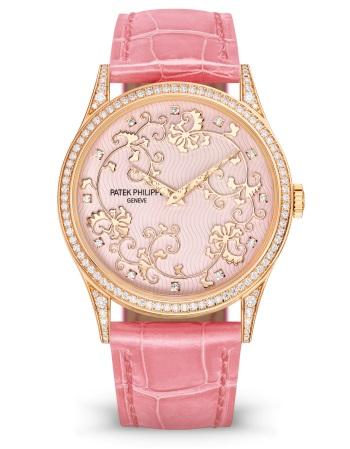 Patek Philippe Редкие ремесла Мод. 5077/101R-001 Розовое золото - ВИД СПЕРЕДИ