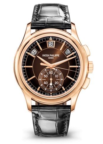 Patek Philippe التعقيدات كود 5905R-001 الذهب الوردي - الوجه