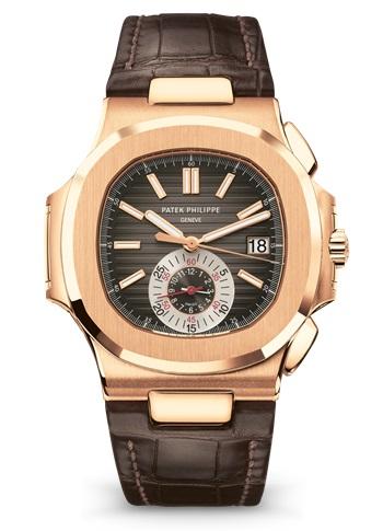 Patek Philippe Nautilus Chronograph Date Rose Gold 5980r 001
