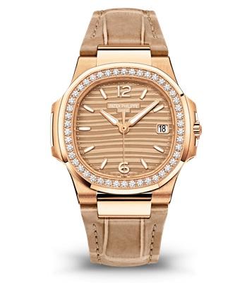 Patek Philippe Nautilus Мод. 7010R-012 Розовое золото - ВИД СПЕРЕДИ