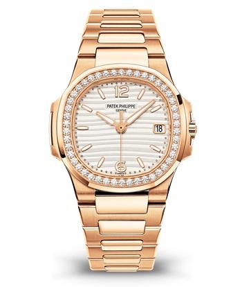 Patek Philippe Nautilus Мод. 7010/1R-011 Розовое золото - ВИД СПЕРЕДИ