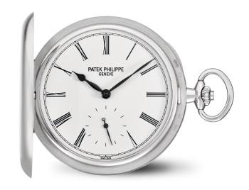 Patek Philippe ساعات الجيب كود 980G-001 الذهب الأبيض - الوجه