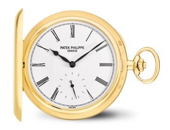 Patek Philippe 懐中時計 Ref. 980J-010 イエローゴールド - 表側