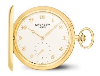 Patek Philippe 怀表 Ref. 980J-011 黄金款式 - 正面