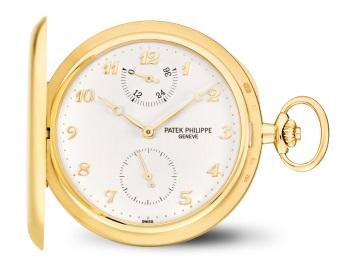 Patek Philippe 怀表 Ref. 983J-001 黄金款式 - 正面