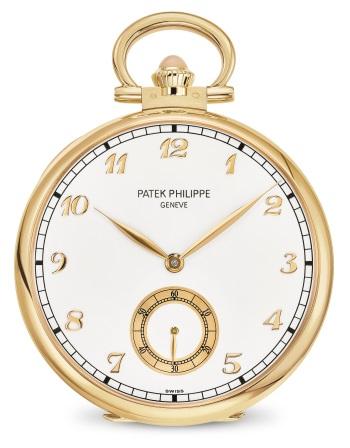 Patek Philippe تحف يدوية نادرة كود 992/114J-001 الذهب الأصفر - الوجه