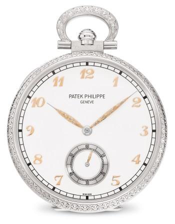 Patek Philippe Oficios artesanales Ref. 995/111G-001 Oro blanco - Anverso