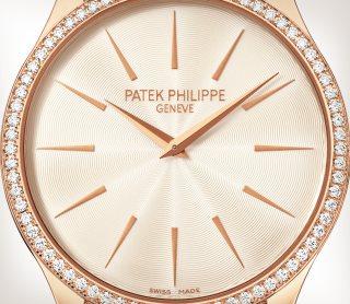 Patek Philippe Calatrava كود 4897R-010 الذهب الوردي - فني