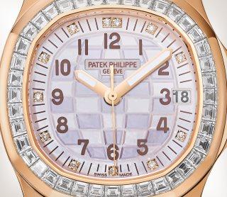 Patek Philippe Aquanaut كود 5072R-001 الذهب الوردي - فني