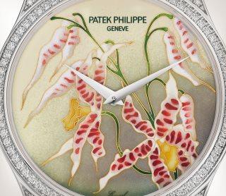 Patek Philippe 希少なハンドクラフト Ref. 5077/100G-032 ホワイトゴールド - 芸術的