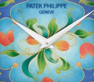 Patek Philippe تحف يدوية نادرة كود 5077/100G-038 الذهب الأبيض - فني