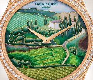 Patek Philippe 希少なハンドクラフト Ref. 5077/100R-033 ローズゴールド - 芸術的