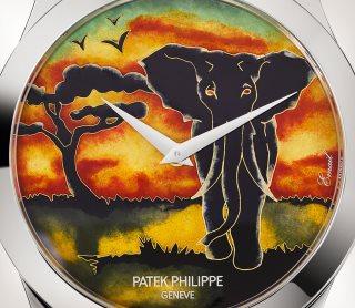 Patek Philippe تحف يدوية نادرة كود 5089G-079 الذهب الأبيض - فني