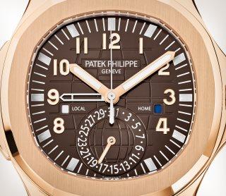 Patek Philippe アクアノート Ref. 5164R-001 ローズゴールド - 芸術的