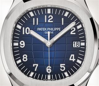 Patek Philippe Aquanaut Ref. 5168G-001 白金款式 - 艺术的