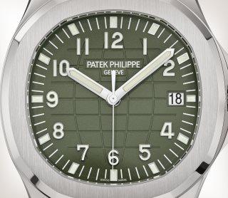 Patek Philippe Aquanaut Ref. 5168G-010 White Gold - Artistic