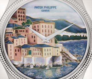 Patek Philippe تحف يدوية نادرة كود 5177G-010 الذهب الأبيض - فني