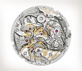 Patek Philippe 超级复杂功能时计 Ref. 5370P-001 铂金款式 - 艺术的