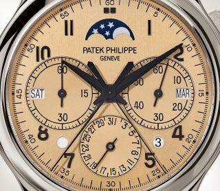 Patek Philippe التعقيدات الكبرى كود 5372P-010 البلاتين - فني