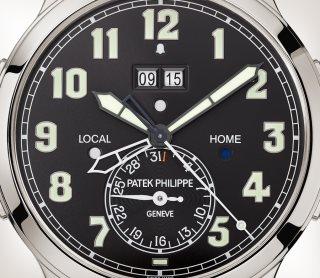 Patek Philippe 超级复杂功能时计 Ref. 5520P-001 铂金款式 - 艺术的