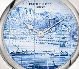 Patek Philippe Редкие ремесла Мод. 5538G-012 Белое золото - Aртистический