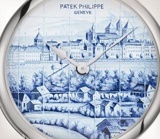 Patek Philippe Редкие ремесла Мод. 5538G-013 Белое золото - Aртистический