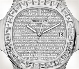 Patek Philippe Nautilus Ref. 5719/10G-010 白金款式 - 艺术的