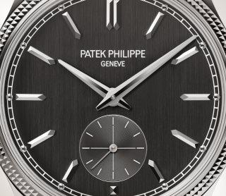 Patek Philippe Calatrava كود 6119G-001 الذهب الأبيض - فني
