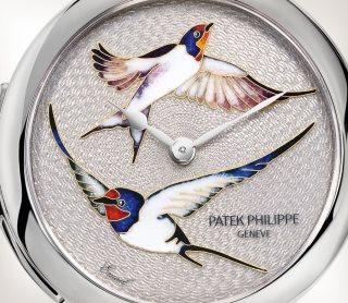 Patek Philippe Редкие ремесла Мод. 7000/50G-010 Белое золото - Aртистический