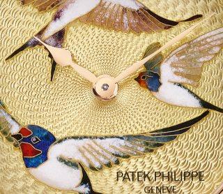 Patek Philippe تحف يدوية نادرة كود 7000/50R-010 الذهب الوردي - فني