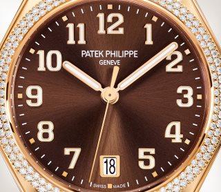 Patek Philippe Twenty~4 كود 7300/1201R-010 الذهب الوردي - فني