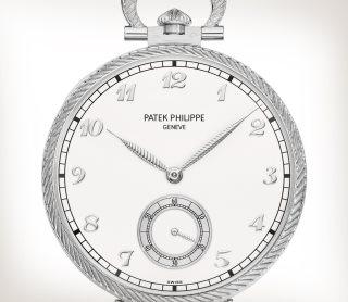 Patek Philippe 希少なハンドクラフト Ref. 992/124G-001 ホワイトゴールド - 芸術的