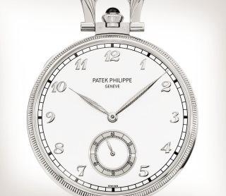 Patek Philippe 珍稀工艺 Ref. 992/142G-001 白金款式 - 艺术的