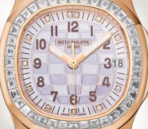 Patek Philippe Aquanaut Ref. 5072R-001 玫瑰金款式 - 艺术的