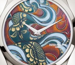 Patek Philippe 希少なハンドクラフト Ref. 5077P-103 プラチナ - 芸術的