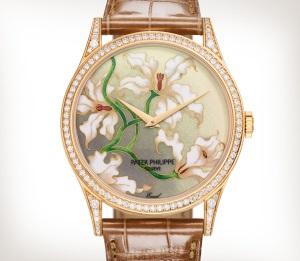 Patek Philippe 珍稀工艺 Ref. 5077/100R-036 玫瑰金款式 - 艺术的