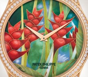 Patek Philippe تحف يدوية نادرة كود 5077/100R-038 الذهب الوردي - فني