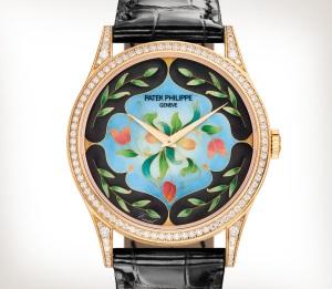 Patek Philippe 珍稀工艺 Ref. 5077/100R-045 玫瑰金款式 - 艺术的